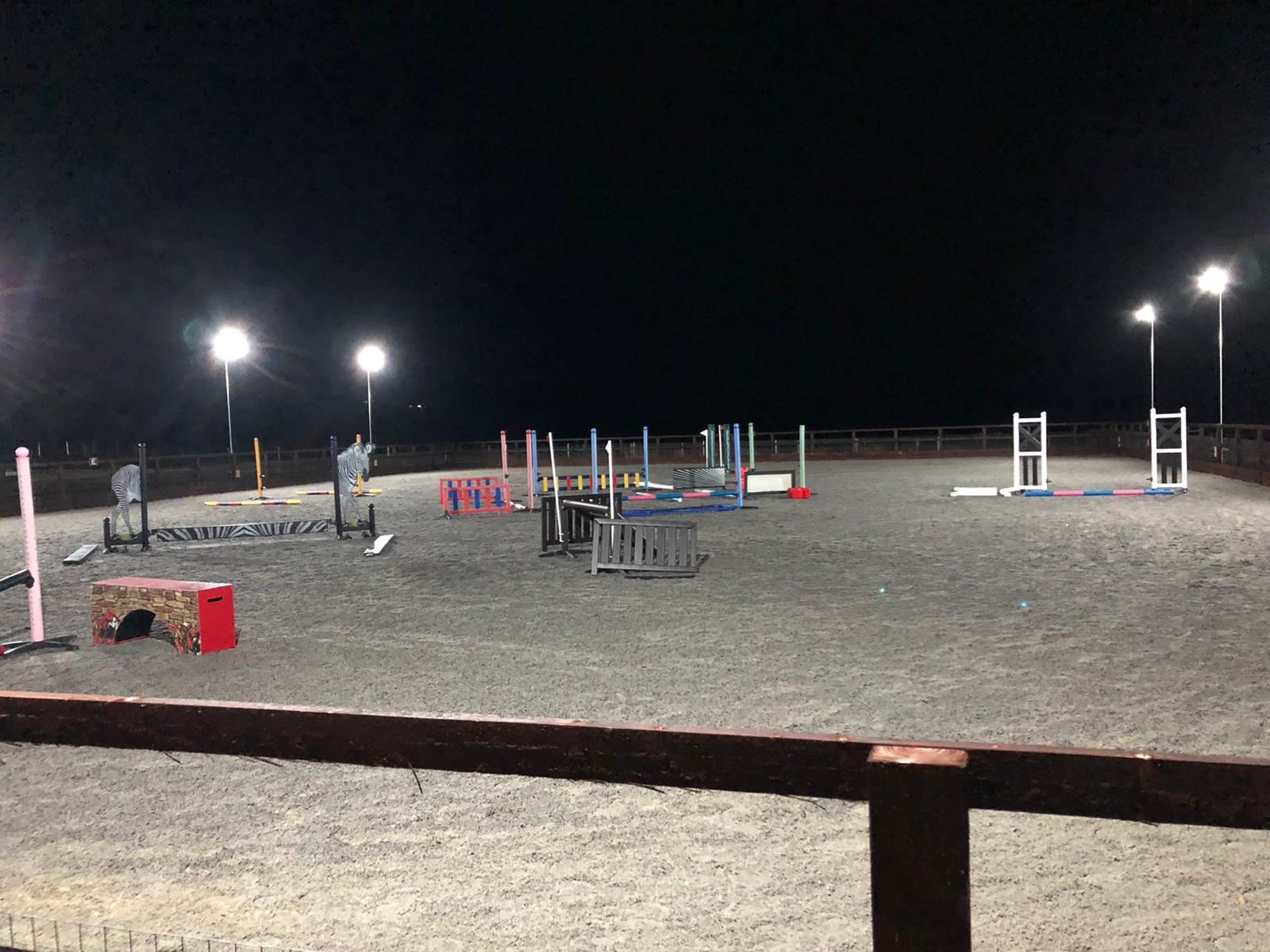equestrian lighting in Wiltshire, Gloucestershire, Oxfordshire & Surrey
