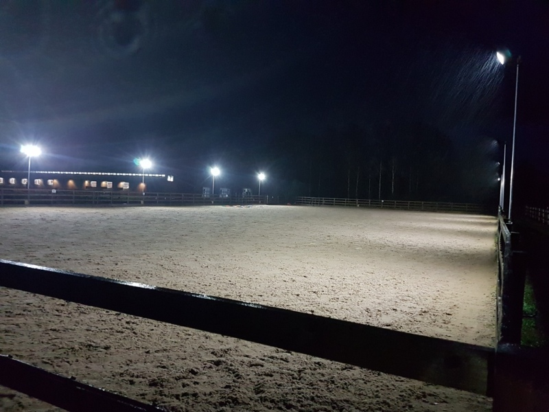 Equestrian Arena Lighting Aylesbury, Buckinghamshire fitted by Eleko expert electricians